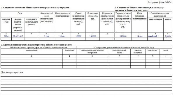 Тонкости оформления акта приема-передачи основных средств ОС-1 - правильный образец и актуальный бланк