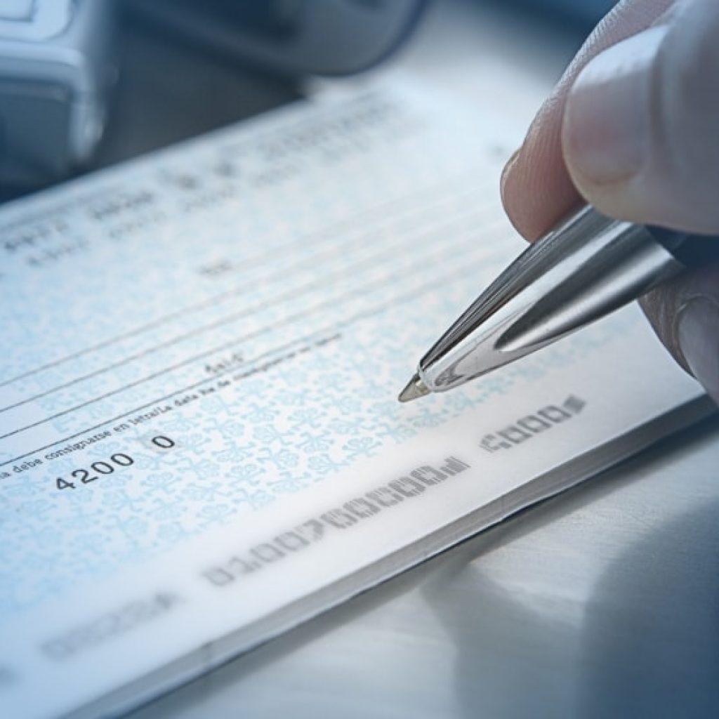 Как заполнить чековую книжку образец 2019 сбербанк